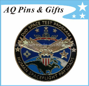 3D Imitation Cloisonne Metal Police Badge (badge-001) pictures & photos