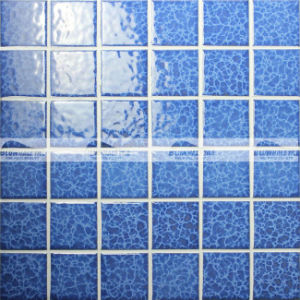 48X48mm Blosssom Crystal Glazed Ceramic Pool Mosaic Tile (BCK621)