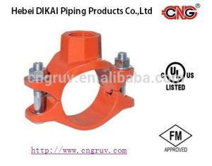 FM /UL Approved Threaded Mechanical Tee Ductile Iron Pipe Fitting Female Threaded Fittings