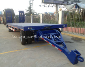 Tongyada Turntable Low Bed Full Trailer