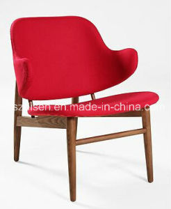Kofod Larsen Solid Wood Lounge Chair (DS-C154)