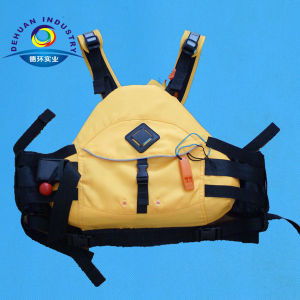 Yellow Offshore Life Jacket with Fashion Design