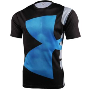 High Quality Special Neck Mens Gym Dry Fit Compression T Shirt