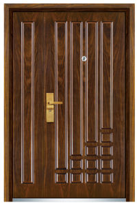 Steel Wooden Door (FXGM-C319B) pictures & photos