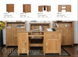 Solid Oak Office Room Furniture Sets