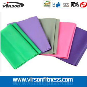 Latex Resistance Band / Elastic Yoga Band for Pilates Stretching