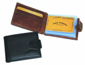 Genuine Leather Business Card Holder/Case/Pocket (JYW-27009) pictures & photos