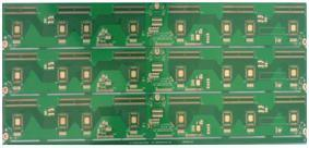 RoHS Fr-4 2 Layers TV Screen Scanning Panel Circuit Board