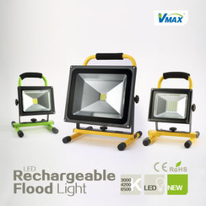 12W 20 Hours Long Time Recharge Floodlight Outdoor Emergency Lamp (V-PO112R) pictures & photos