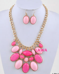 Colorful Fashion Lady Necklace(LSS47)