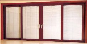 Excellent Double Glazing Aluminum Sliding Door with High Quality (pH-8815)