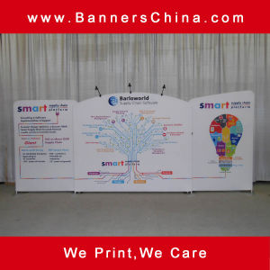 20FT Straight Tension Fabric Trade Show Displays pictures & photos