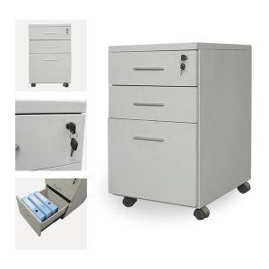Mobile Metal Pedestal File Cabinet