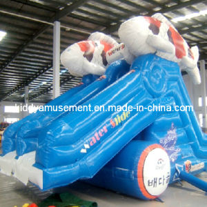Inflatable Water Slide for Water Park Toys
