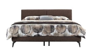 Modern Fabric Home Furniture Bedroom Furniture King Queen Size Bed