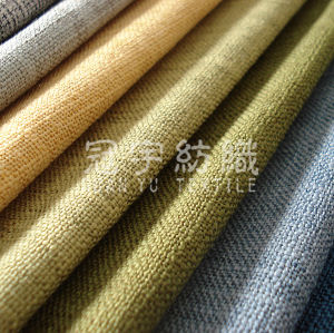 Polyester Linen Woven Decorative Fabric for Sofa pictures & photos