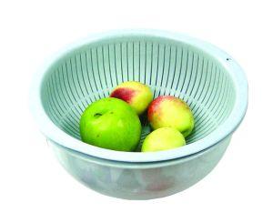 China Double Drain Bowl Fruit Dish Fruit Plate Fruit Bowl Plastic