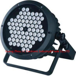 Cast Aluminum 72PCS 3W RGBW LED PAR Can /PAR Light pictures & photos