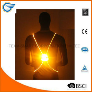 Night Reflective Vest LED Optics Vest for Running pictures & photos