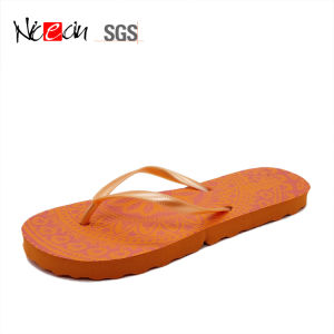 PVC Upper Flat Anti-Slip Colorful Flip