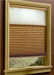 Windows Honeycomb Shades Blinds Manual Cord with Pleated Venetian pictures & photos