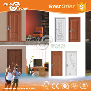 PVC Door/ Wooden PVC Door/ Bathroom PVC Door pictures & photos