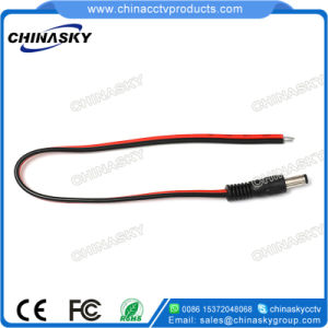 100 Pack Male Red Black DC Power Pigtails Adapter CCTV DVR Camera Lead Plug Cord