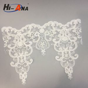 Free Sample Available Finest Quality Embroidery Lace Applique pictures & photos
