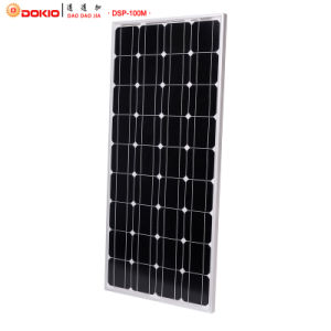 Dokio Great Quality 100W Solar Module pictures & photos