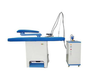 CE Approvered Electric Industrial Laundry Iron Press Laundry Steam Press pictures & photos