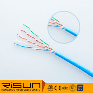 Pass Fluke Test UTP Cat5e LAN Cable with 305m Pull Box Package Passed CPR