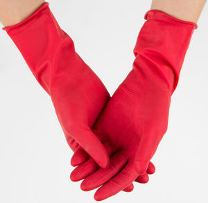 Household Rubber Gloves/ Latex Glove pictures & photos