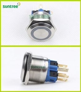 Stainless Steel 22mm Momentary LED Push Button Switch Anti-Vandal LED Pushbutton pictures & photos