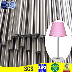 Round bright steel pipe for table lamp pictures & photos