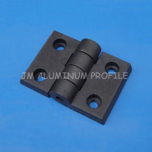 ABS Black Plastic Hinge Ordinary Hinges for Aluminum Profile pictures & photos