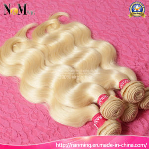 Perfect Silver Blonde Color Nano Ring Hair Extension pictures & photos