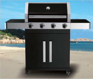 4 Burner Outdoor Gas BBQ Grill with Ce for Europe pictures & photos