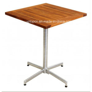 Modern Design Wood Leisure Cafe Dining Outdoor Table (SP-AT320) pictures & photos