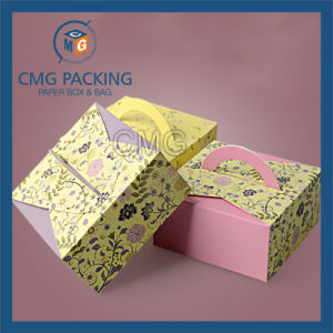 Square Paper Card Logo Printing Mooncake Box (CMG-cake box-027) pictures & photos