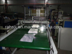 Computer Double Layer Bottom Sealing Shopping Bag Making Machine pictures & photos