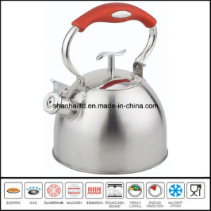 Color Wire Steel Handle Whistle Kettle Kitchenware pictures & photos