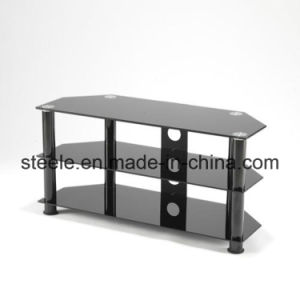 Modern Black Glass TV Stand/TV Rack/TV Table/TV Cabinet