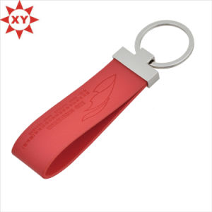 New Arrived Good Quality Custom Leather Keychain pictures & photos
