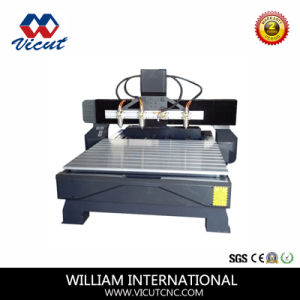 Door Making Furniture Carving Wood CNC Router CNC Router (VCT-1518FR-4H) pictures & photos
