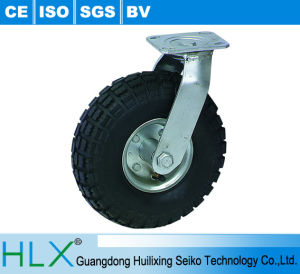 Rubber Wheel Heavy Duty Caster Wheel Rigid or Swivel with Brake pictures & photos