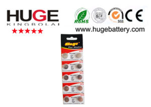 1.5V mercury free alkaline button cell battery AG13 pictures & photos