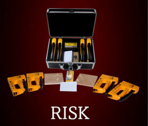 Staple Gun! Risk by Francesco Tesei/ Magic Tricks