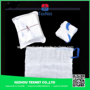 100% Cotton Absorbent Gauze Pad pictures & photos