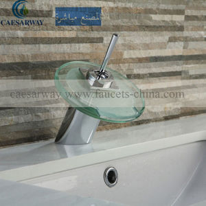 Cascada Grifos Con LED Modern Basin Faucet with Watermark Approved for Bathroom pictures & photos