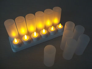 Rechargeable Remote Control LED Candle pictures & photos
